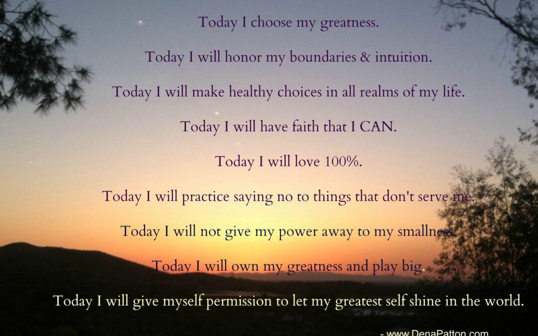 Dena Patton Blog: Step Into Courage Today