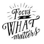 Dena Patton Blog: Focus. Focus. Focus. It's what will move the train.
